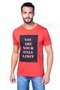 """Camiseta Masculina Estampa Frontal Frase """"You are your only limit"""""""