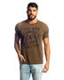 Camiseta Country Masculina Adulto Manga Curta Estampada
