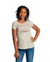 T-Shirt Juvenil Feminina Head Free Off Estampada Manga Curta